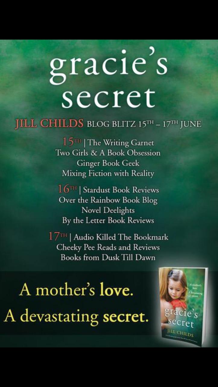 Gracie's Secret By Jill Childs @author_jill @bookouture – Two Girls